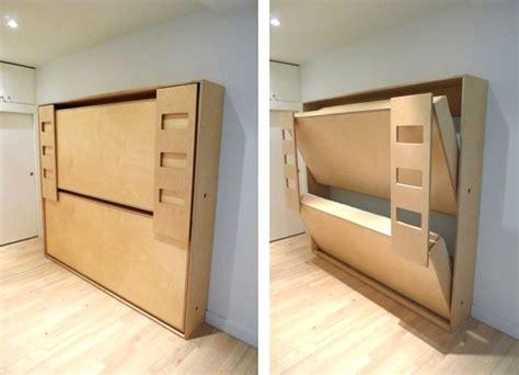 murphy bed bunk beds double murphy bunk bed small wood shop ideas pinterest