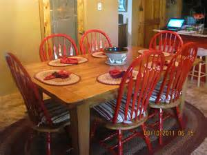 painted chair ideas dreaming of june living the log home newly painted kitchen chairs