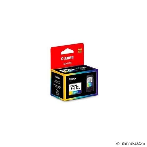 Tinta Printer Canon Cl 741 jual canon color ink cartridge with print cl 741xl murah bhinneka