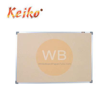 Keiko Soft Board Classic Stand 60x90cm softboard keiko gantung polos uk 90 x 180