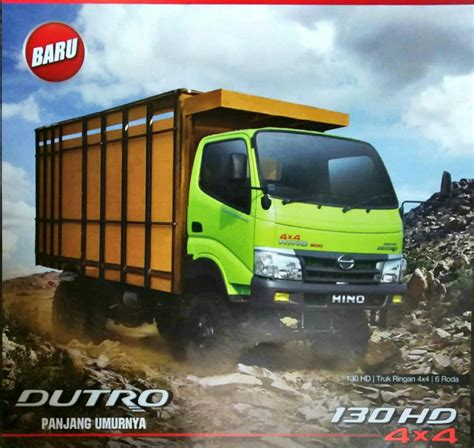 Hino Dutro 130 Hd Ps 2018 hino dutro 130 hd 4x4 spesifikasi dan harga terbaru