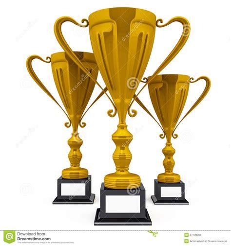 imagenes de trofeos vulgares trofeos del ganador imagenes de archivo imagen 27739394