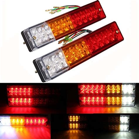 ambother 2x 20 led car truck led trailer lights turn
