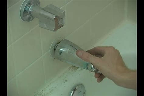 how to install bathtub spout how do i fix a leaky bathtub faucet spout ehow