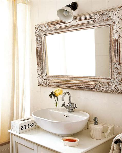 framed bathroom mirrors best way to give unique character unique bathroom mirrors brightpulse us
