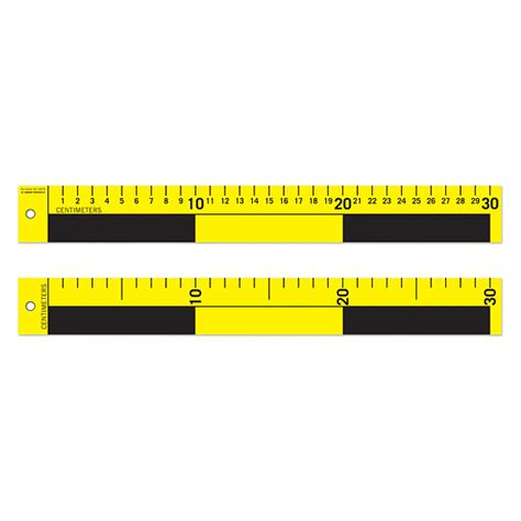 printable evidence ruler scales 30 cm 5 pcs welcome by loci forensics b v