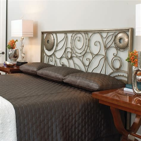 wrought iron headboards king wrought iron paris headboard king by global views