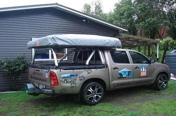 top dog rooftop tent by 3 dog campers