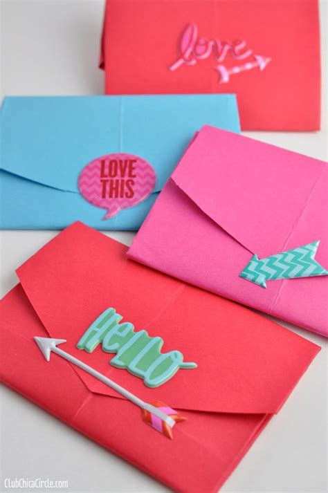 How To Make Handmade Envelopes - 10 ideas about envelopes on gift