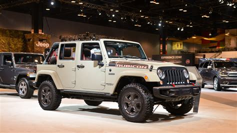 Who Makes Jeeps Rubicon Recon Makes The Jeep Wrangler Even More Capable