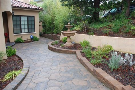 garden and patio landscaping ideas for small front yards