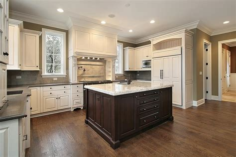 brown and white kitchen cabinets terrific gourmet kitchens and cabinets and kitchen island