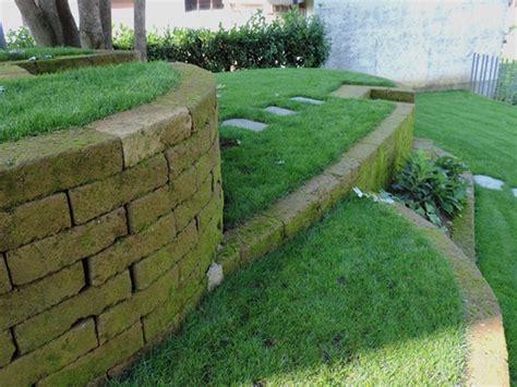 Aiuole Con Tufo by Giardino Con Terrazzamenti In Tufo Progettazione Giardini