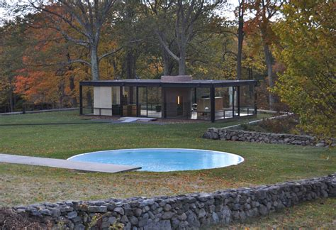 glass house new canaan visualsyntax mm roadtrip philip johnson s glass house