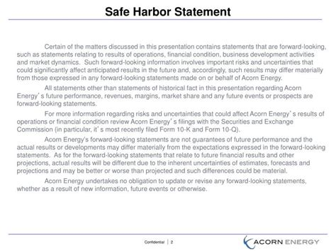 Ppt July 2012 Powerpoint Presentation Id 3996878 Safe Harbor Statement Template