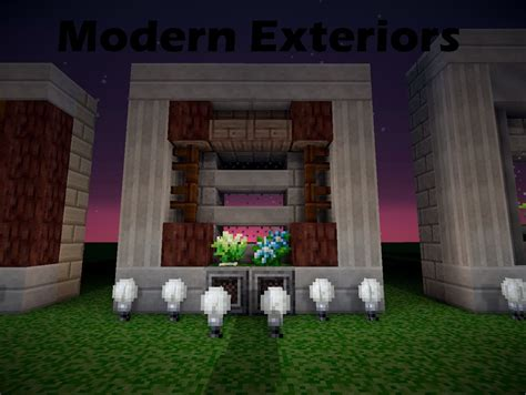 How to Make A Modern Exterior Minecraft Blog
