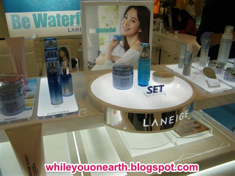 Laneige Counter while you on earth welcoming laneige new counter at grand indonesia