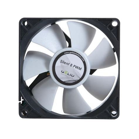 fan in gelid solutions silent 8 8cm 80mm computer 4 pin pwm