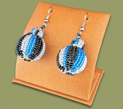 Bobble Earrings earrings bobble bobble earrings blue silver black