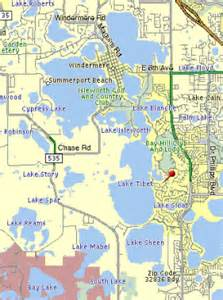 chain of lakes florida map trophy bass fishing guide service orlando kissimmee