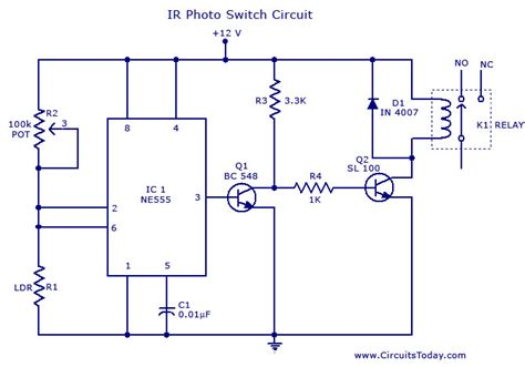 how to make a circuit with a switch gt circuits gt photo switch circuit l37197 next gr
