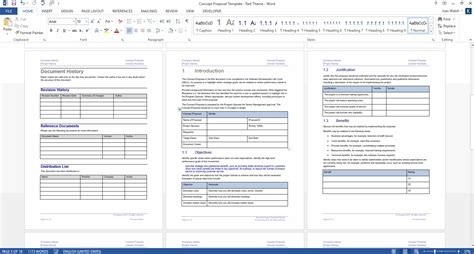 project sponsorship proposal template microsoft office templates