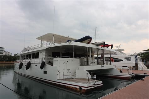 singapore yacht club boats for sale 2011 prout 77 power catamaran power new and used boats for
