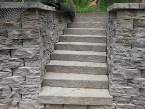 Stairs To Patio Walls Steps And Veneer Stone Showcase Allgreen Inc