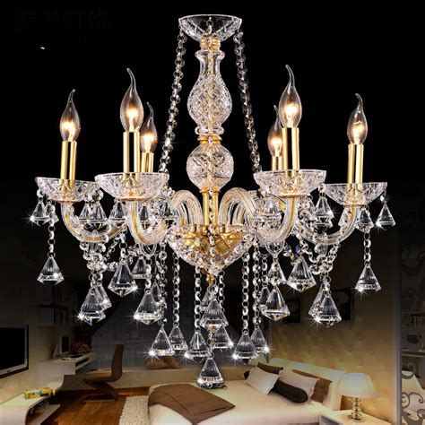 Chandelier Decoration Gold Chandelier Lighting For Indoor Home Decoration Bedroom Kitchen Wedding Lights