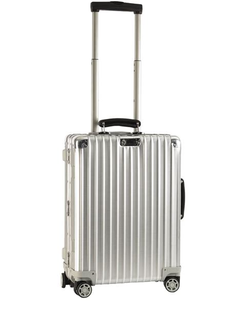 valigie cabina valise cabine rimowa en aluminium 55cm livraison gratuite