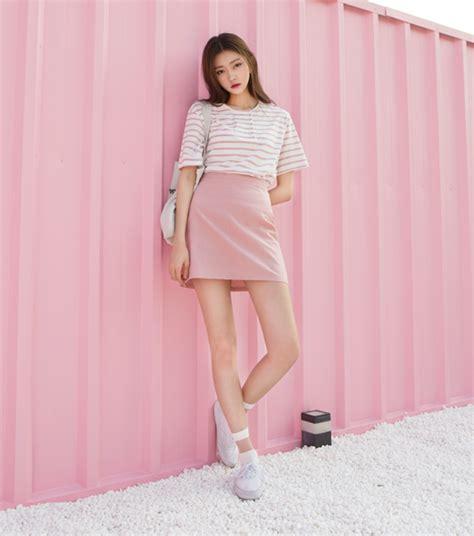 Korea Pink korean daily fashion official korean fashion