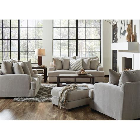 living room loveseats gabrielle living room sofa loveseat cream 334603