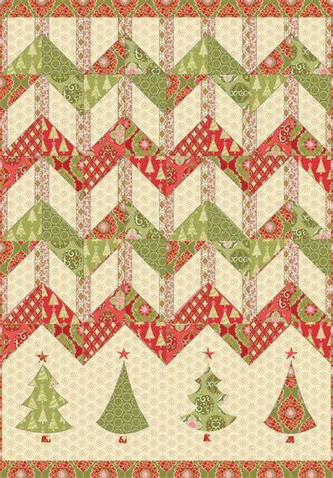 free pattern zig zag free pattern christmas zigzag from blend fabrics free