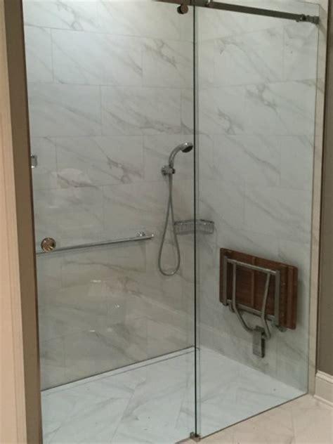Serenity Shower Door by Sliding Shower Tub Enclosures
