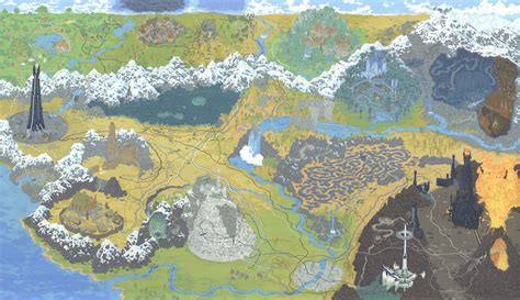 lord of rings map artist andrew degraff does maps of lord of rings