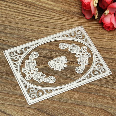 brass stencils for card metal cutting dies diy scrapbooking embossing stencils