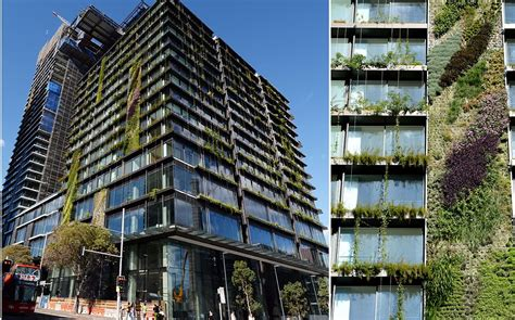 incredible vertical gardens attached