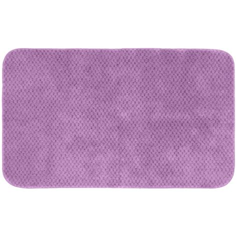 accent rugs for bathroom garland rug cabernet purple 30 in x 50 in washable