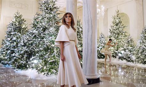 decoracion de navidad melania trump la excesiva decoraci 243 n navide 241 a de la casa blanca en las