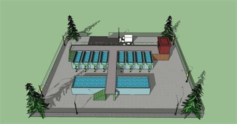 fungsi layout sketchup environmental engineering filtrasi latihan 3