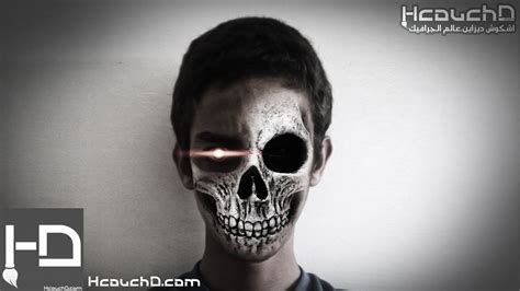 tutorial photoshop skull face tutorial 75 how to make a skull face using photoshop