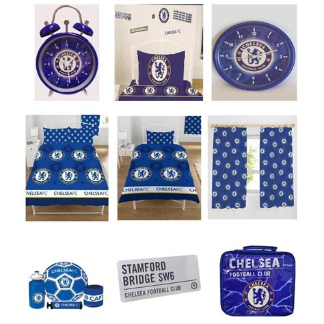 Chelsea Fc Bedroom Accessories Bedding Clocks Towels More Ebay