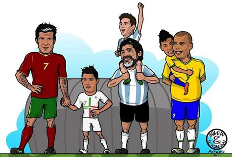 the footy room fathers and sons figo cr7 messi maradona neymar y ronaldo dingen om te kopen