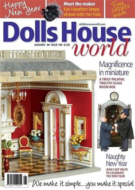 dolls house world magazine 1000 images about miniatures magazines on pinterest miniature toy store and free