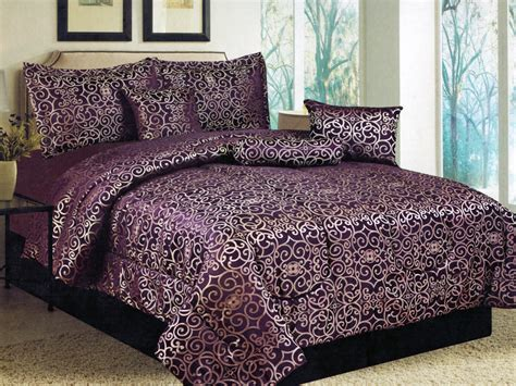 purple and gold bedding purple and gold comforter sets home staging accessories 2014