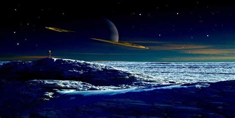 the largest moon of saturn saturn s largest moon titan has landforms similar to