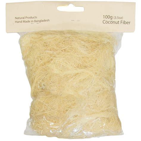 coco fiber coco fiber shred ivory 3 5 oz cf100 02 craftoutlet com