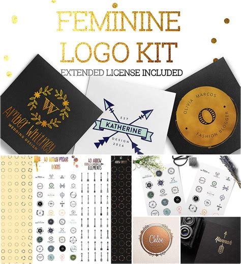 feminine logo kit