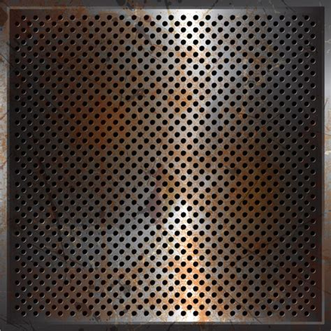 perforated pattern illustrator metal perforated vector background free vector in