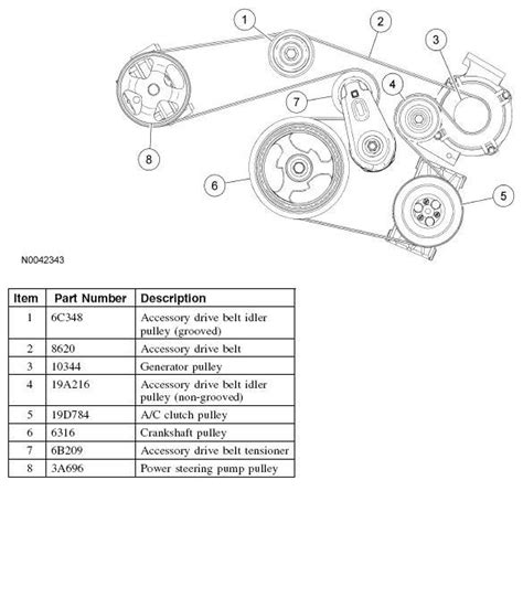 ford fusion engine diagram 2006 ford fusion belt diagram 2006 tractor engine and